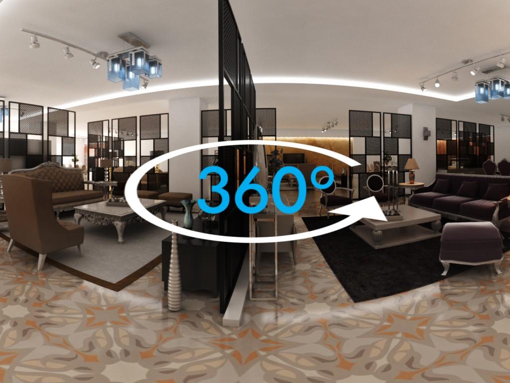 VR 360 Mağaza Uygulaması